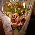老公送給我第一束花