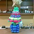 汽球聖誕樹
