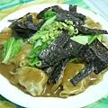 蘑菇醬扁食