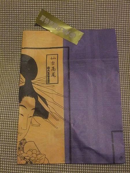 大江戶溫泉物語的紙袋