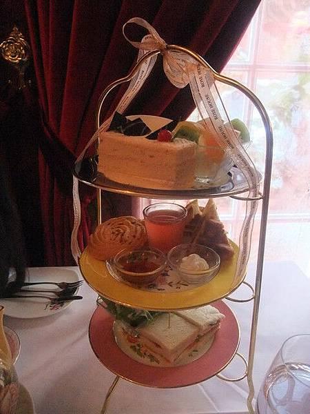 古典玫瑰園城堡下午茶