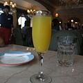 前菜事件送的柳橙汁