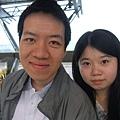 第一次一起搭高鐵