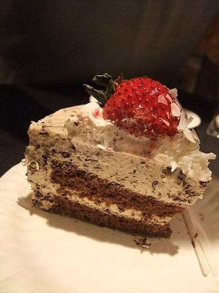 切蛋糕技術很好