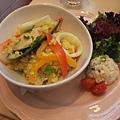 西班牙蕃紅花海鮮燉飯