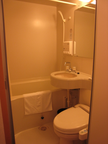 東橫INN飯店 浴室