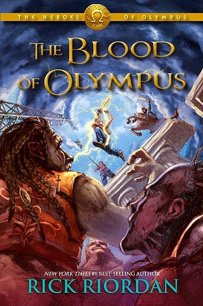 The Heroes of Olympus: The Blood of Olympus