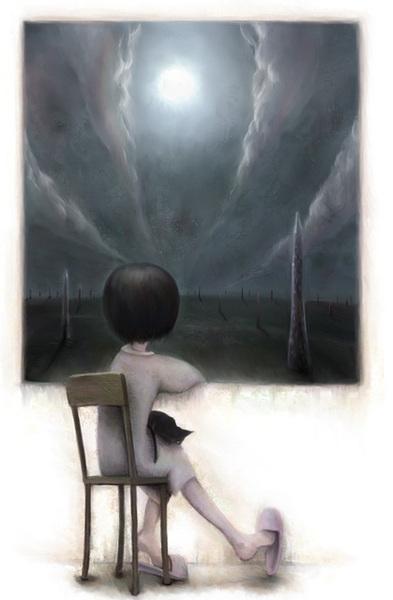 一個人....寂寞