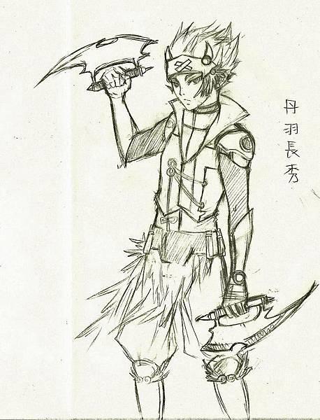 丹羽長秀-草圖2