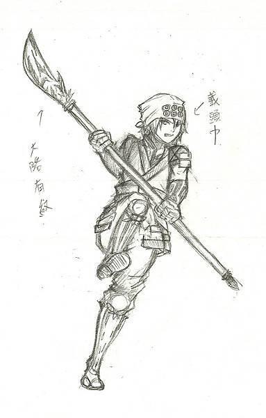 真田幸村草圖