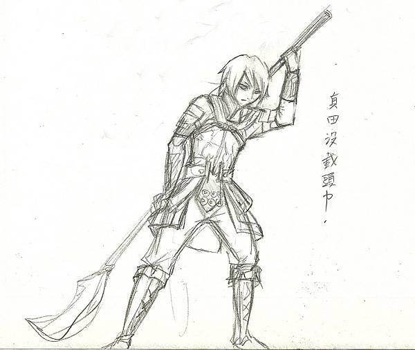真田幸村草圖2