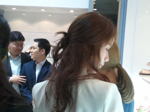 少時參加Jinny Kim開幕式