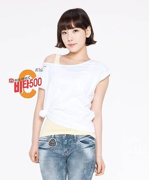 泰妍 Vita500新宣傳圖