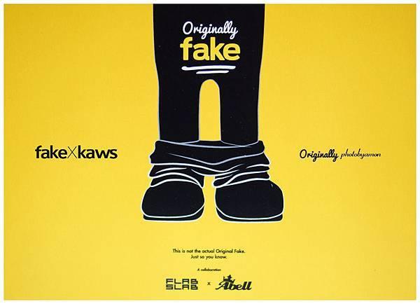 fake kaws 1