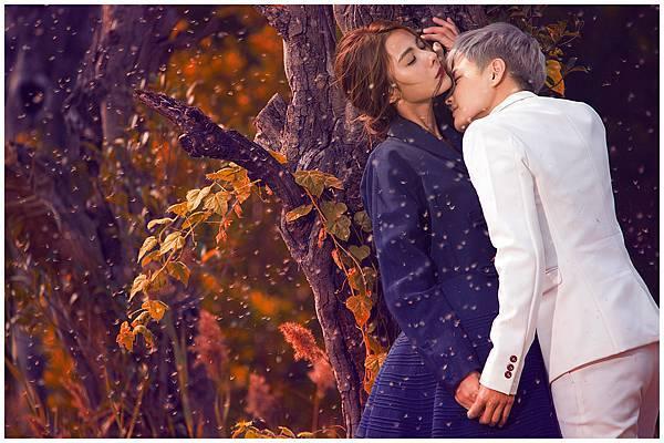 兩人的愛情如坐上魔毯飛也似的前進