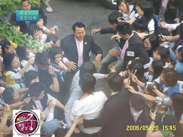 20060520 NAKNINE 大邱簽名會(PM2:00) 進出場圖