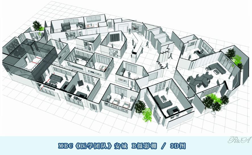 1-安城B摄影棚-3D图