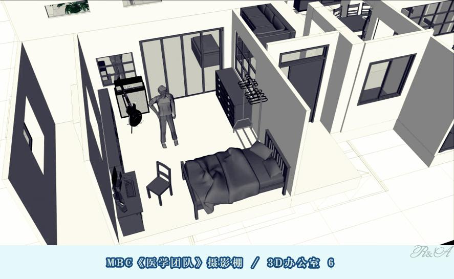 安城摄影棚3D办公室-6