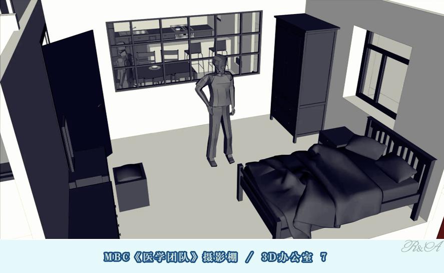 安城摄影棚3D办公室-7