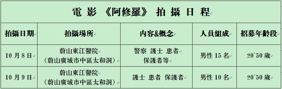 阿修罗_拍摄日程(繁)02
