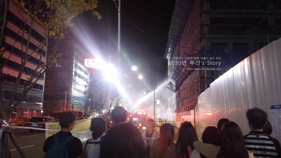 명지국제신도시_영화촬영_신과함께_20160827_2