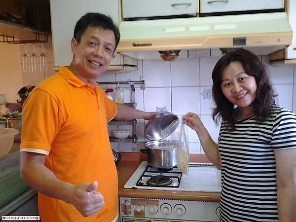 煮養生活力雞湯