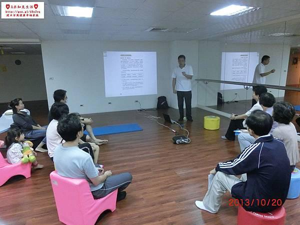 蕭老師義務在竹北奉獻教學簡易鬆筋法