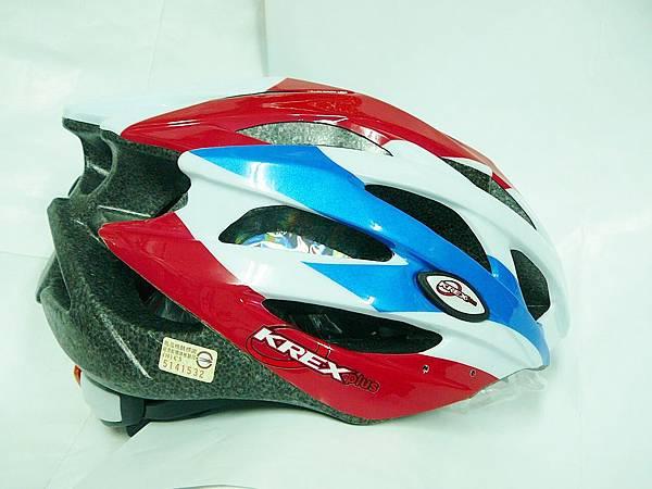 KREX 安全帽 白/藍/紅