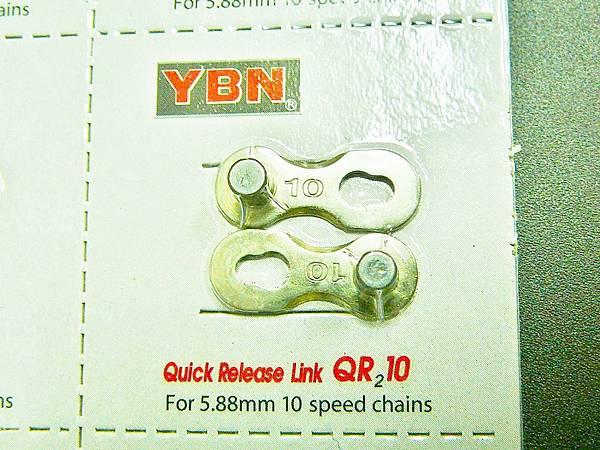 YBN (10速鏈條用快扣)