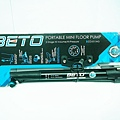 BETO 隨車打氣筒 CO-011AG 高壓 120 PSI 附隱藏式氣壓錶 美法兩用氣嘴