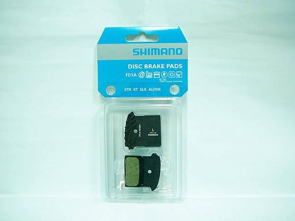 原廠 SHIMANO F01A 鯊魚鰭散熱剎車皮