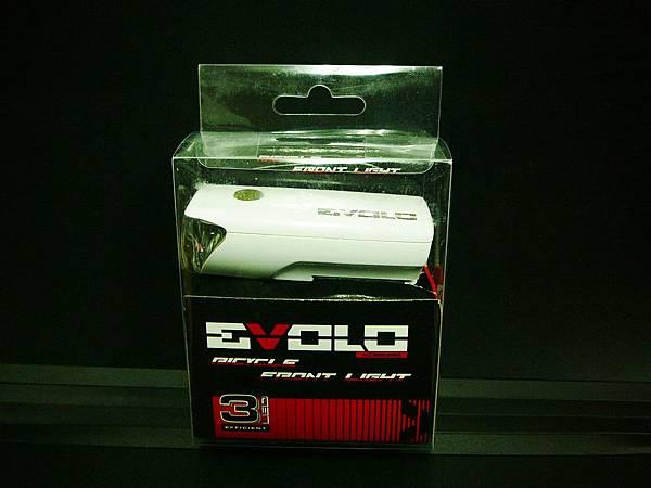 新款 EVOLO 高亮度 4段式 3LED前燈 白