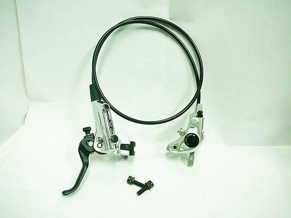 單左邊 shimano XT bl-M785/br-M785 分離式油壓碟剎