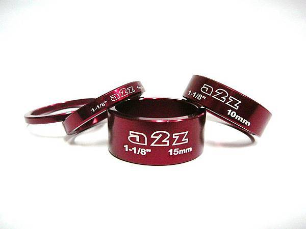a2z 陽極紅色 鋁合金龍頭墊片