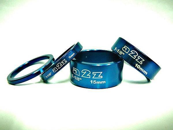 a2z 陽極藍色 鋁合金龍頭墊片