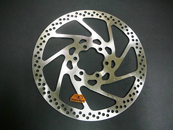 Shimano XT SM-RT75 160mm國際6孔鎖入式碟盤