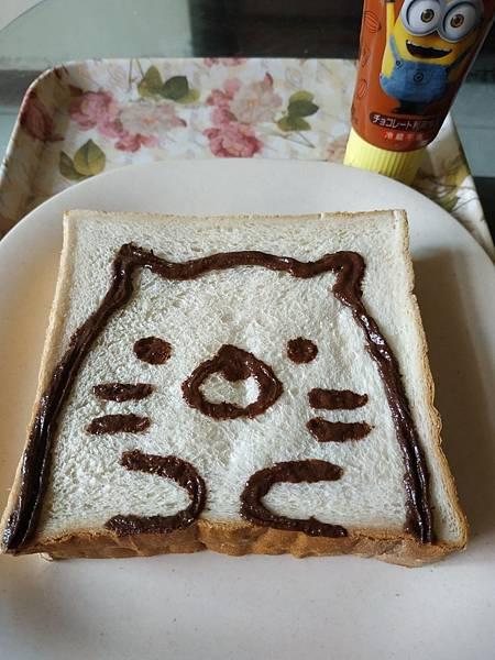 巧克力醬 DIY 角落生物貓.jpg