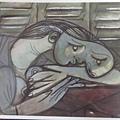 DSCF7954明信片《百葉窗前沉睡的女子》.JPG