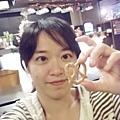 DSCF8872愛心餅乾味道獨特喔.JPG