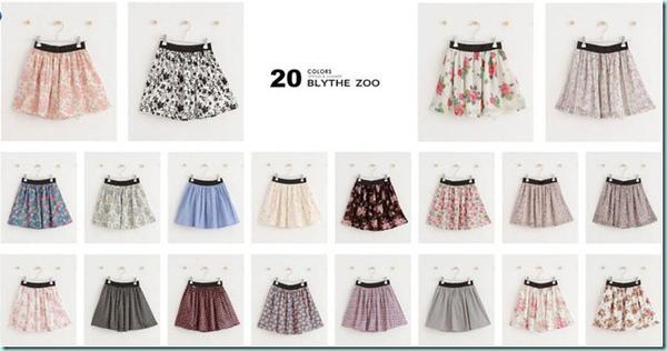20色小圓裙