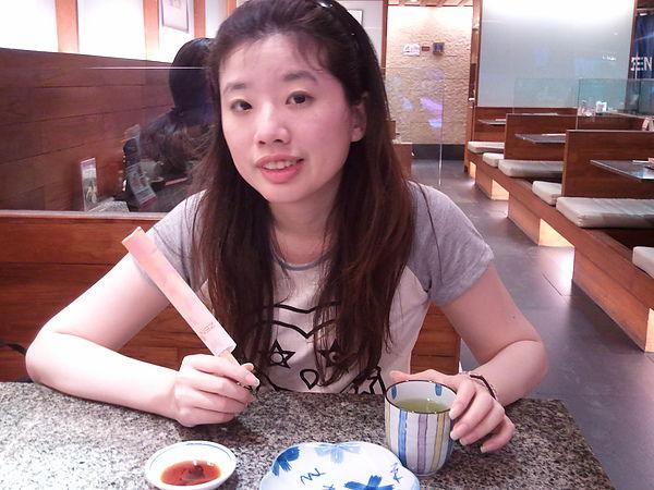 去吃了日式料理