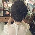 新娘秘書|新秘|新娘造型/輕盈線條盤髮,優雅讓您成為最浪漫的新娘