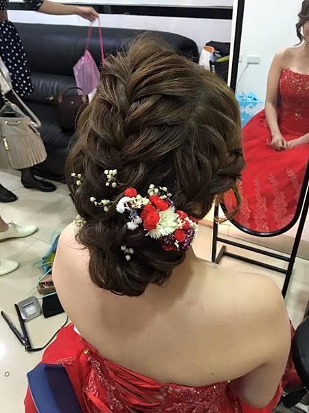 新娘編髮造型-桃園新秘-新娘秘書