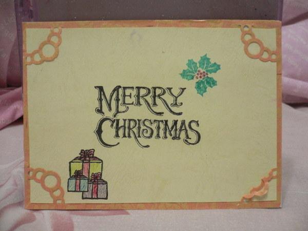 古早版聖誕卡