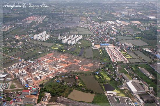 Aerial view of Bankok