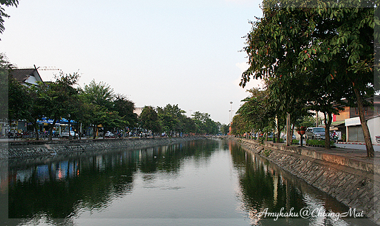 The moat of old city