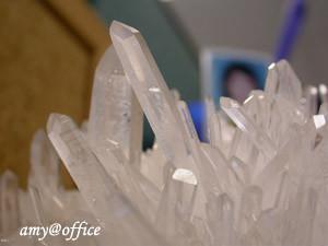 水晶簇特寫