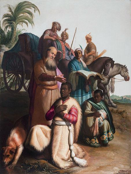 453px-Rembrandt,_The_Baptism_of_the_Eunuch,_1626,_Museum_Catharijneconvent,_Utrecht.jpg