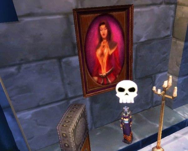 可能是麥老媽艾格文的肖像