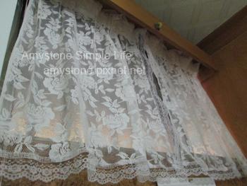 蕾絲花邊窗簾